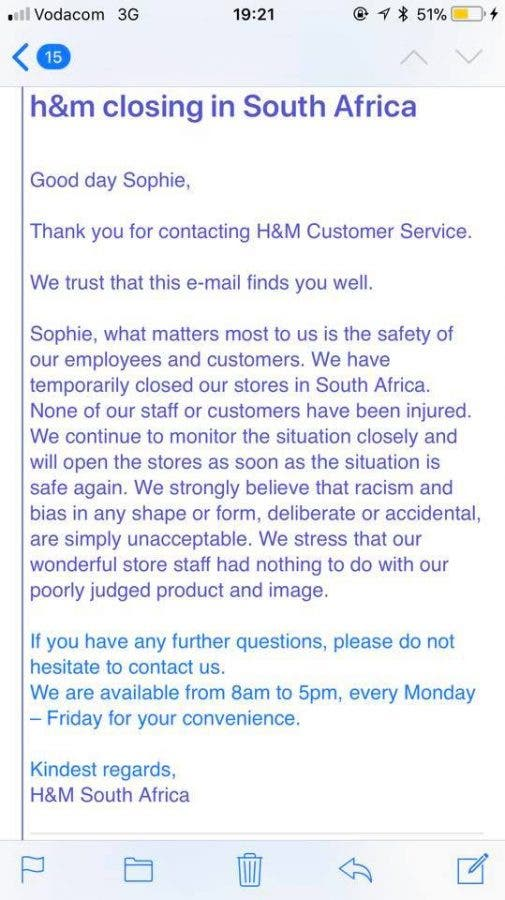 customer service closing statements