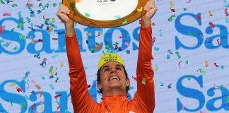 Daryl Impey, South African professional road cyclist wins Tour Down Under