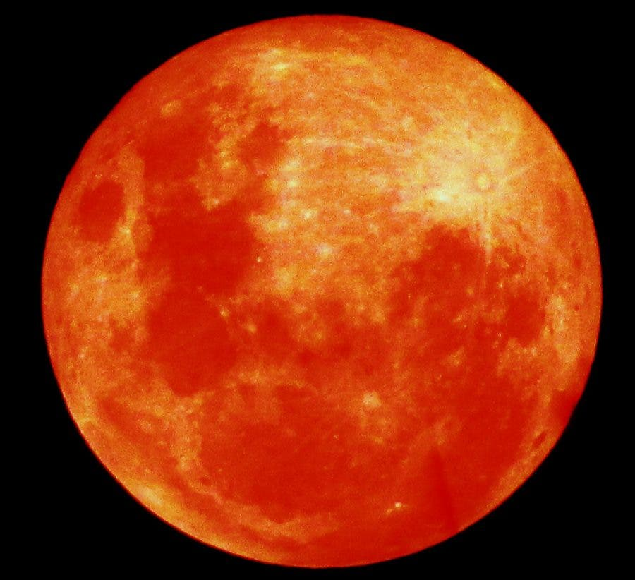 red moon tonight august 2018 - photo #2