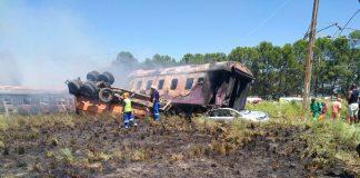 train crash south africa