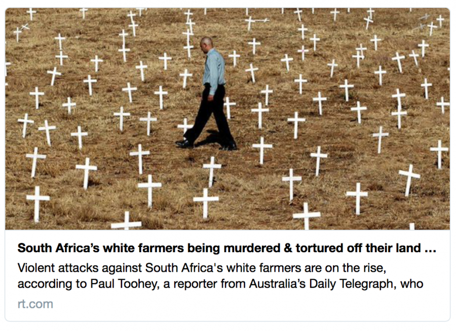 South African farm murders make news in Russia