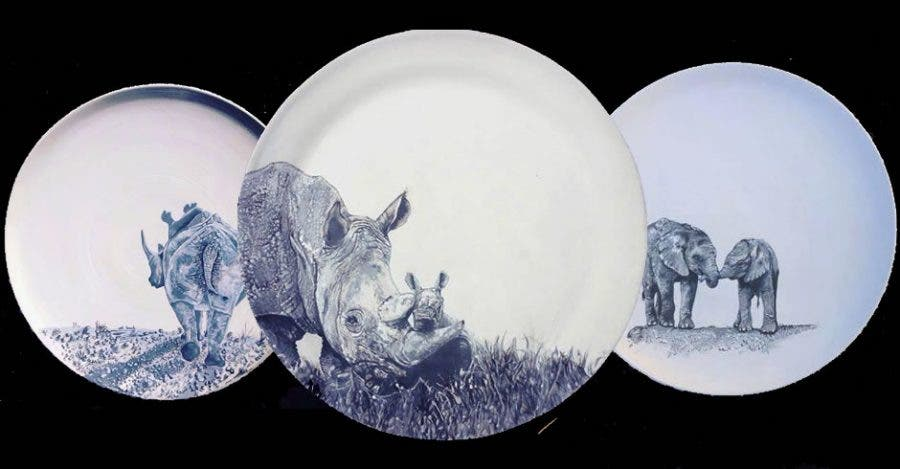 Wildlife platters