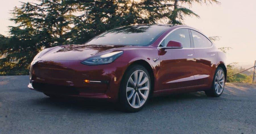 Elon musk reveals tesla 39 s dual motor 4x4 model 3 specs for Tesla electric car motor specifications