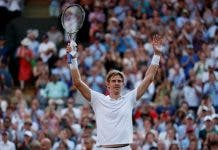 South Africa's Kevin Anderson exhibition match sa