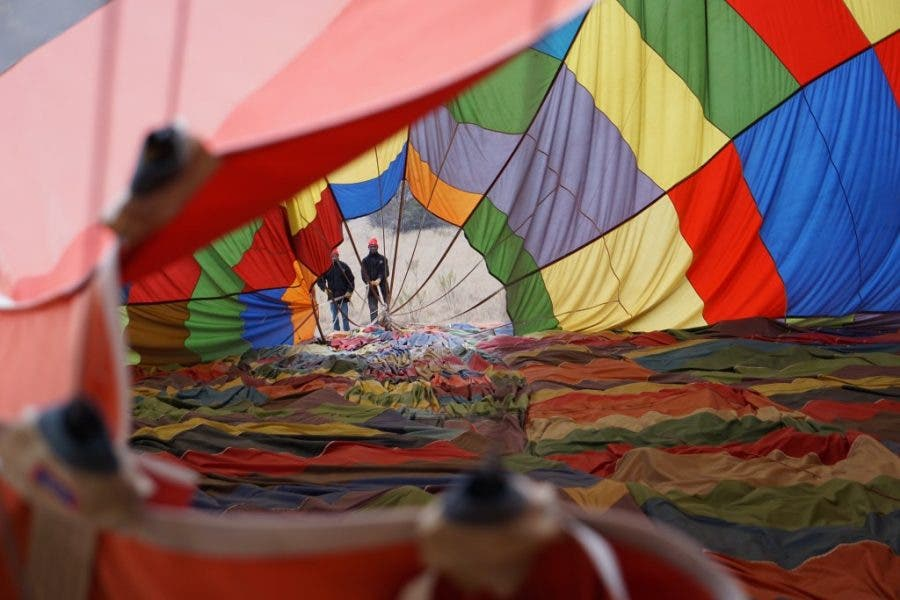 hot air balloon 13