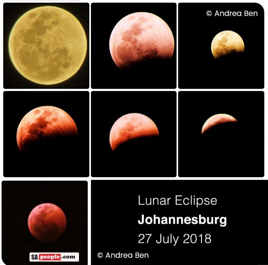 red moon eclipse south africa - photo #3