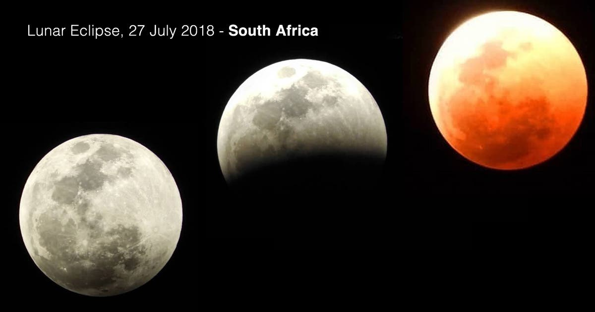 red moon eclipse south africa - photo #5