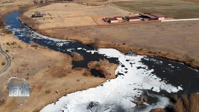vaal river sewage