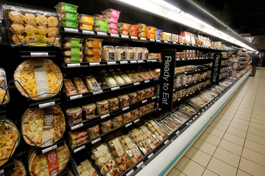 FILE PHOTO  Ready to eat meals are displayed at an outlet of retailer  Shoprite Checkers in Cape Town 044ba93d9fb97