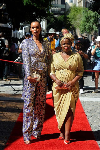 South Africa S Sona 2019 Guests Dress For A Cause