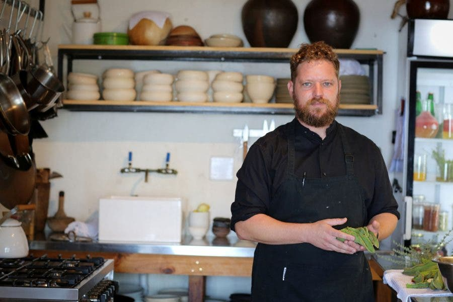 Chef Kobus van der Merwe Wolfgat South Africa top restaurant