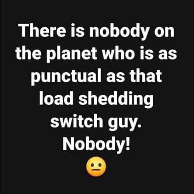 Shedding Light and Humour on South Africa's Loadshedding