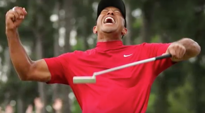 huge selection of 242e3 9de35 WATCH Nike s Ad as Tiger Woods Wins 1st Major in 11 Years. Never ...