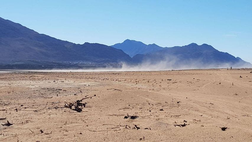 The situation at Theewaterskloof Dam was critical in June 2018 as Cape Town faced Ground Zero.