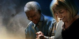 Nelson Mandela and Zelda la Grange. Photo supplied.