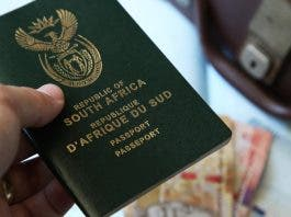 south african passport