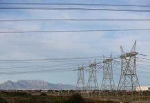 eskom table mountain western cape
