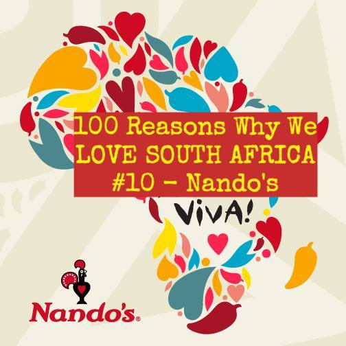 100 Reasons Why We Love South Africa #ReasonsWeLoveSA