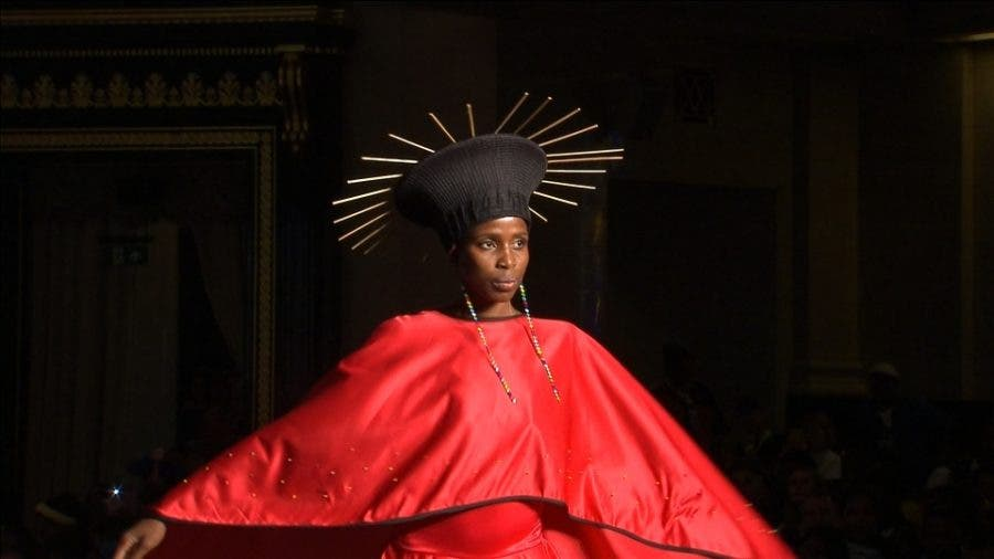 Watch South Africans Inc Former Car Guard Dazzle At London Fashion Show Sapeople Your Worldwide South African Community