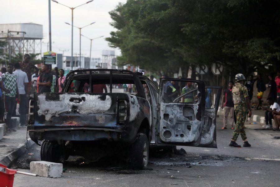 Shoprite mall attacked in Nigeria
