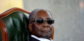 Robert Mugabe has died