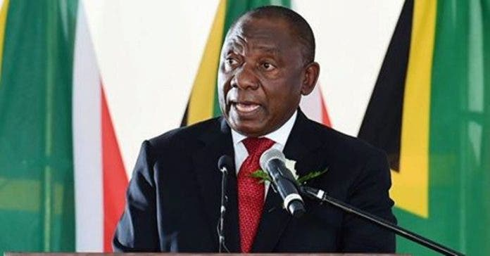 cyril ramaphosa president south africa leader