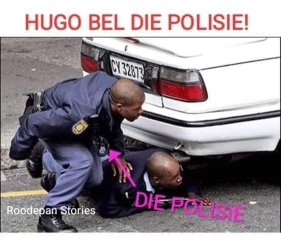 Watch Hugo Bel Die Polisie Street Fight Goes Viral And South