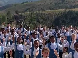 Drakensberg Boys Choir Rugby World Cup World in Union song