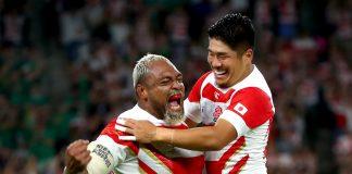 japan wins over ireland