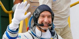 Italian astronaut Luca Parmitano, crew member of the mission to the International Space Station (ISS)