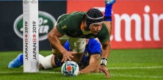 Springboks beat Italy at Rugby World Cup in Japan