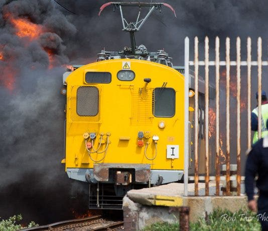 glencairn metro train fire