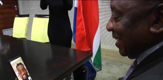 siya kolisi ramaphosa rugby world cup