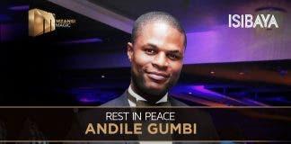andile gumbi died