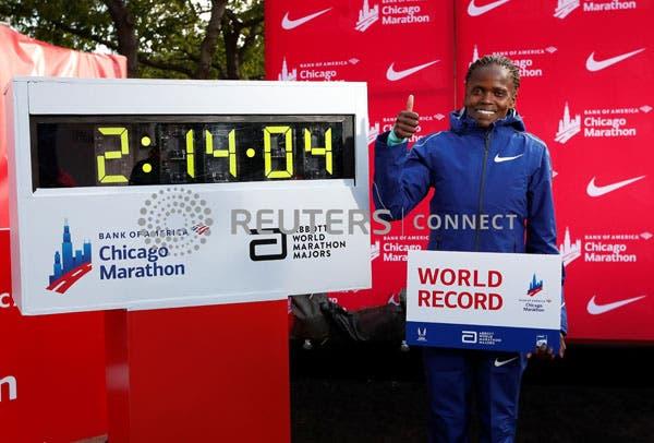 Chicago Marathon men's winner