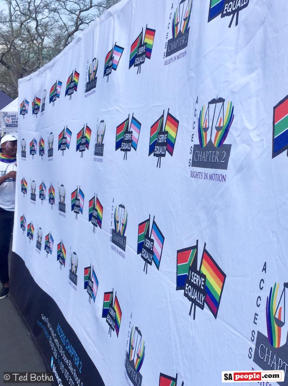 Gay Pride March Festival Joburg South Africa