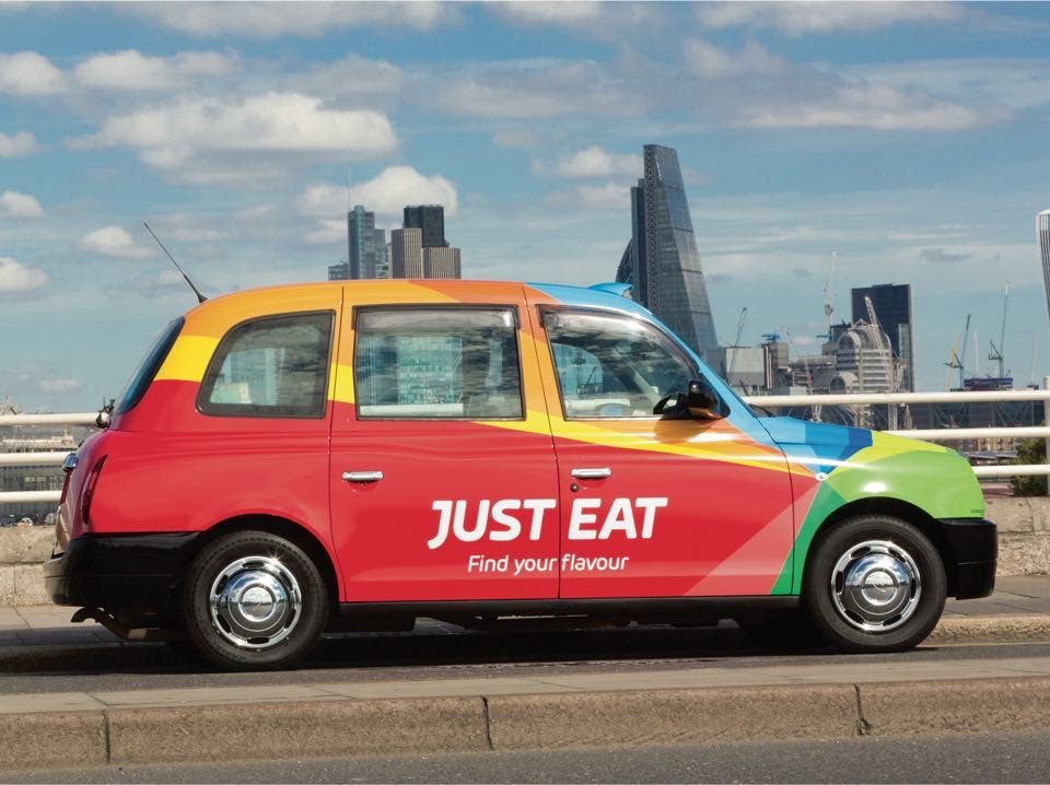 just eat car
