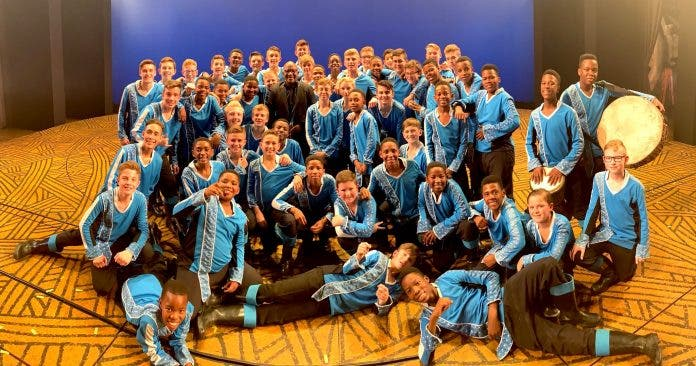 Watch Drakensberg Boys Choirs Surprise Performance In The