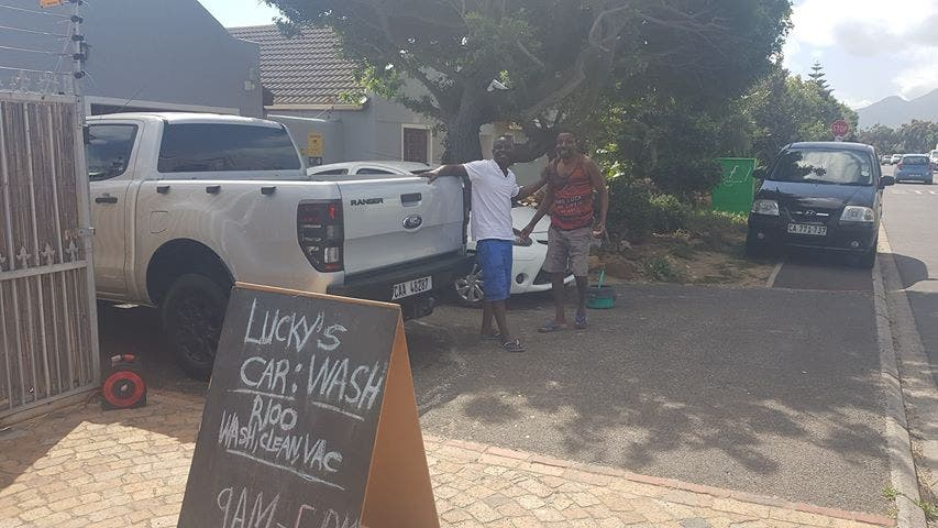 lucky's car wash cape town south africa