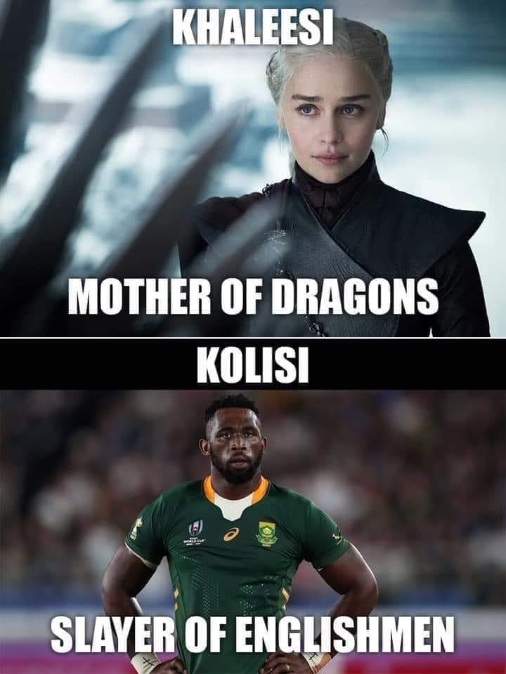 mother of dragons slayer of englishmen meme kolisi