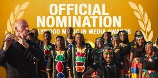 ndlovu youth choir and water kellerman hollywood music nomination