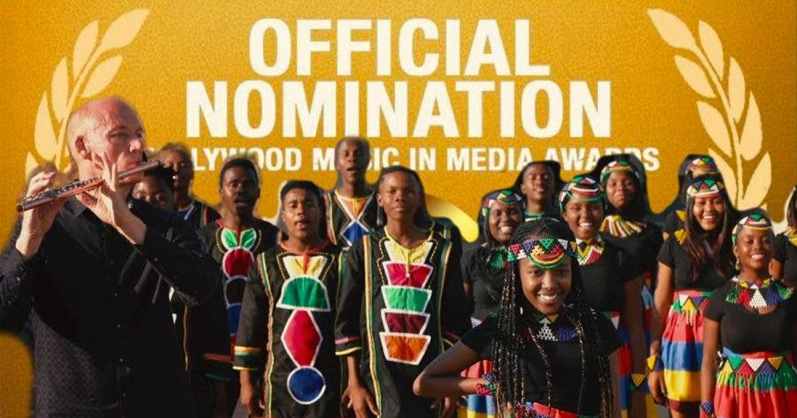 ndlovu youth choir and water kellerman hollywood music nomination