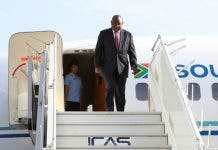 president ramaphosa in london