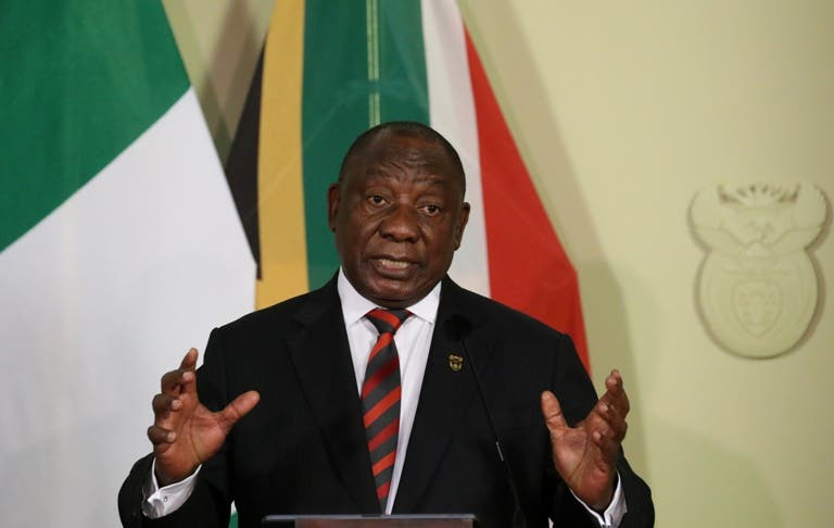 President Cyril Ramaphosa, South Africa