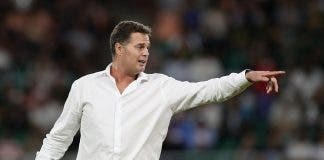 Springbok coach Rassie Erasmus Rugby World Cup 2019 - Pool B - South Africa v Italy