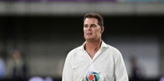 South Africa head coach Rassie Erasmus at Rugby World Cup