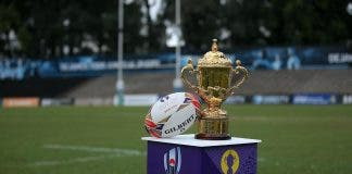 rugby world cup trophy SABC will screen the rugby world cup final