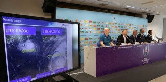 Rugby Union - Rugby World Cup - World Rugby give update on preparations for Typhoon Hagibis