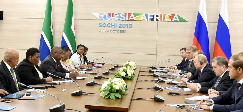 russia south africa meeting