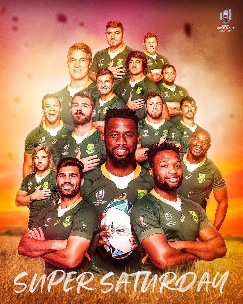 springbok team saturday